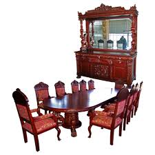 7203 r j horner 15 pc winged griffin carved mahogany dining room roll over large image to magnify click large image to zoom