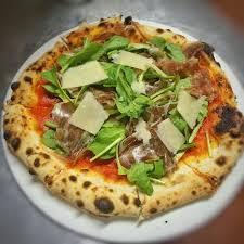 cuisine pizza pizza sballo mascarpone coppa ham rocket parmesan