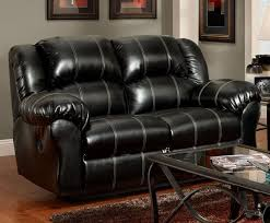 Black Leather Reclining Loveseat Taos Black Bonded Leather Reclining Sofa U0026 Loveseat Set 1000