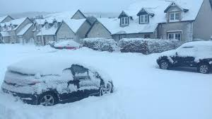 Snow Scotland News In Pictures Snow Across Scotland