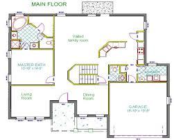Concrete Block Floor Plans House Plan 2406