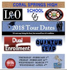 coral springs high homepage