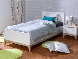 lit chambre enfant lit enfant evidence blanc hêtre 90x200 chambrekids