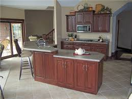 kitchen island with raised bar custom kitchen cabinets ds woods custom cabinets decatur
