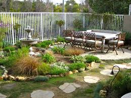 Small Backyard Patio Ideas On A Budget Small Yard Design With Cozy Dining Set And Mini Garden For Outdoor