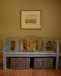 Entryway Baskets Entryway Bench With Storage Baskets With Pillow U2014 Railing Stairs