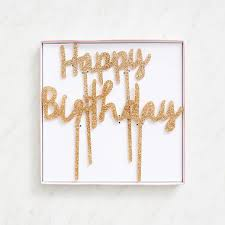 birthday cake topper happy birthday cake topper paper source