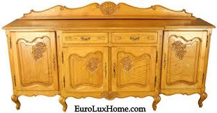 client spotlight vintage louis xv french country sideboard