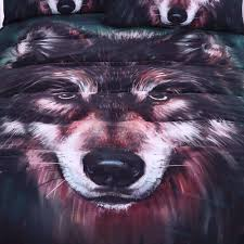 Wolf Bedding Set Wolf Bedding Set 3d Duvet Set Novelty Finds