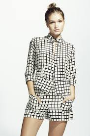 bow tie blouse bow tie blouse b w check sorella couture