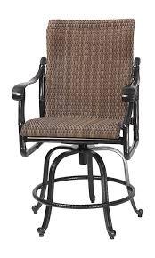 High Back Patio Chair San Marino By Gensun Woven High Back Patio Furniture Swivel