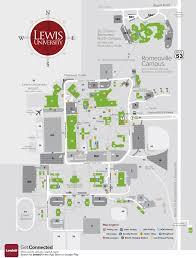 Boston University Map Lewis University Romeoville Campus Campus Map