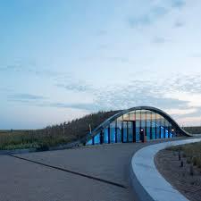 car park architecture and design dezeen dune shaped car park by royal haskoningdhv doubles as a flood defence