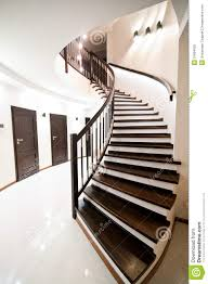 elegant home interior spiral stairs royalty free stock photo image 31664655