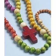 children s rosary childrens rosary wood bead primary 30018