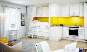 Laminating Flooring White Cabinetry Also Island With Black Granite Countertop Also
