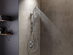 s shower hydrorail s shower column for handshower showerhead k 45906 kohler