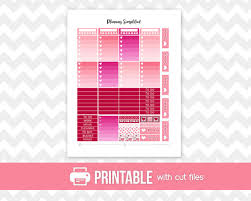 printable stickers valentines printable planner stickers valentine s day weekly kit for