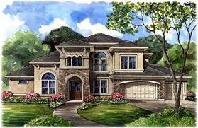 5 bedroom home luxury house plan 5 bedrooms 5 bath 4486 sq ft plan 62 346