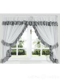 Kitchen Curtains Uk by Black And White Kitchen Curtains U2013 Teawing Co
