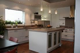 ilot cuisine blanc cuisine en ilot central photos de conception de maison
