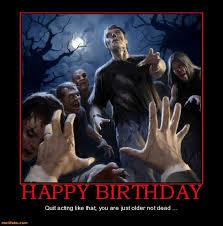 Zombie Birthday Meme - pin by blacklady on happy birthday pinterest happy birthday