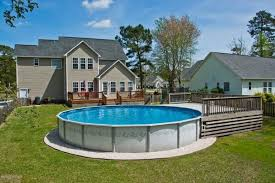 Pool Ideas For Backyard 14 Great Above Ground Swimming Pool Ideas