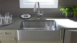 Kohler Apron Front Kitchen Sink Kohler Verity Apron Front Sinks Kitchen Sinks Kitchen