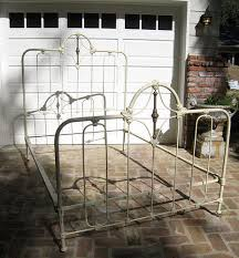 Antique Cast Iron Bed Frame Antique Wrought Iron Beds Antique Rod Iron Bed Home Decor 3827
