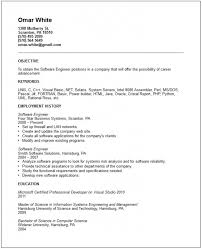systems engineering resume software engineer resume sample software engineer resume samples