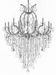Maria Theresa Chandelier Maria Theresa Trimmed Chandelier Chandeliers Crystal Chandelier