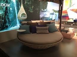 Circle Hanging Bed by Kick It Up A Notch Decorating With Round Beds