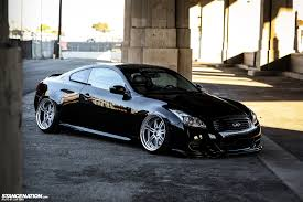 nissan frontier bagged the low n slow infiniti g37 coupe stancenation form u003e function