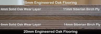 wood flooring 15mm or 20mm engineered oak flooring peak oak