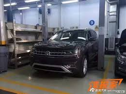 volkswagen suv 3 rows official vw atlas germancarforum