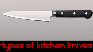 Best Type Of Kitchen Knives Type Of Kitchen Knives Different Types Of Knives An Illustrated