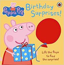 peppa pig birthday peppa pig birthday surprises co uk ladybird