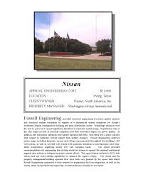 nissan finance irving texas commercial fussell engineering