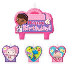 doc mcstuffins birthday doc mcstuffins birthday candle set shopdisney