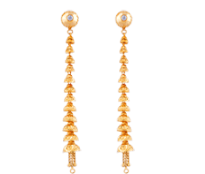 sui dhaga earrings design sui dhaga gold earrings designs gold earrings sui dhaga
