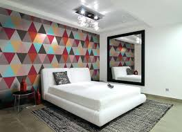 bedroom wallpaper ideas captivating bedrooms with geometric