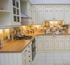 Backsplash Ideas For White Kitchens Kitchen Impressive Tile Kitchen Countertops White Cabinets Best