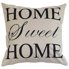 sweet home theater amazon com onker cotton linen square decorative throw pillow case