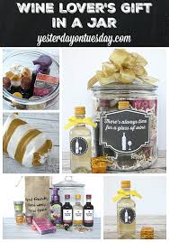 wine birthday gifts wine lover s gift in a jar yesterday on tuesday