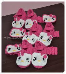 hello headband crochet hello booties and headband set