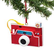 fisher price ornaments by department 56