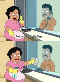 Consuela Meme - family guy maid tumblr