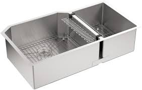 KOHLER Strive Undermount DoubleBowl Kitchen Sink Gauge - Kohler stainless steel kitchen sinks undermount