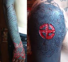 55 best scarification images on pinterest arm tattos beautiful