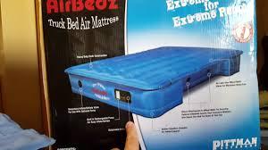 pittman airbedz truck bed mattress review youtube